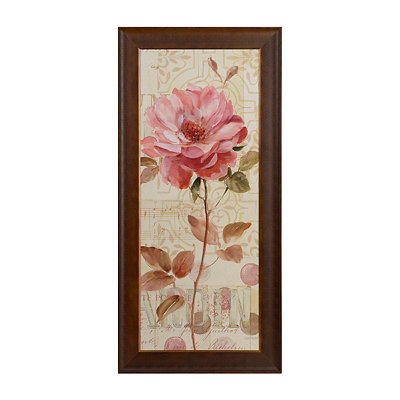 Harmonious Flower I Framed Art Print