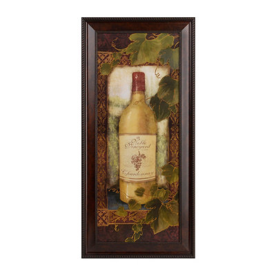 Noble Vineyard Chardonnay Framed Art Print