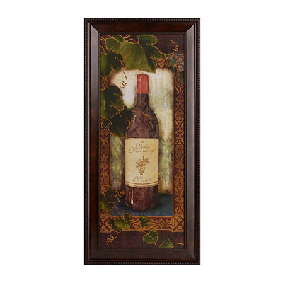 Noble Vineyard Merlot Framed Art Print