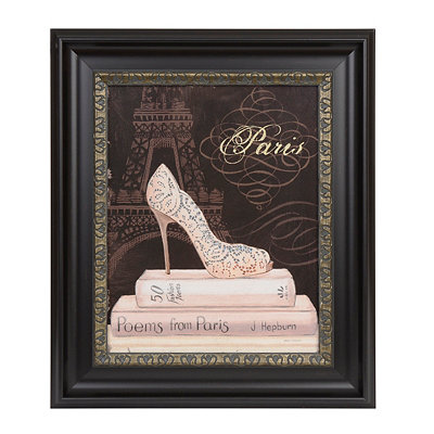 Paris Fashion Framed Art Print