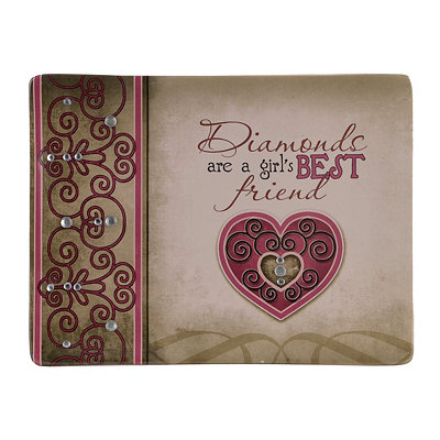 Girl's Best Friend Decorative Tray with Stand