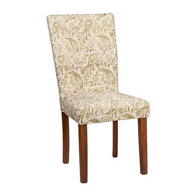 Basil Paisley Parsons Chair