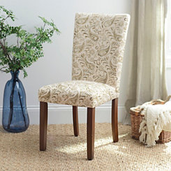 Basil Paisley Parsons Chair