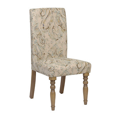 Paisely Pompeii Sky Parsons Chair