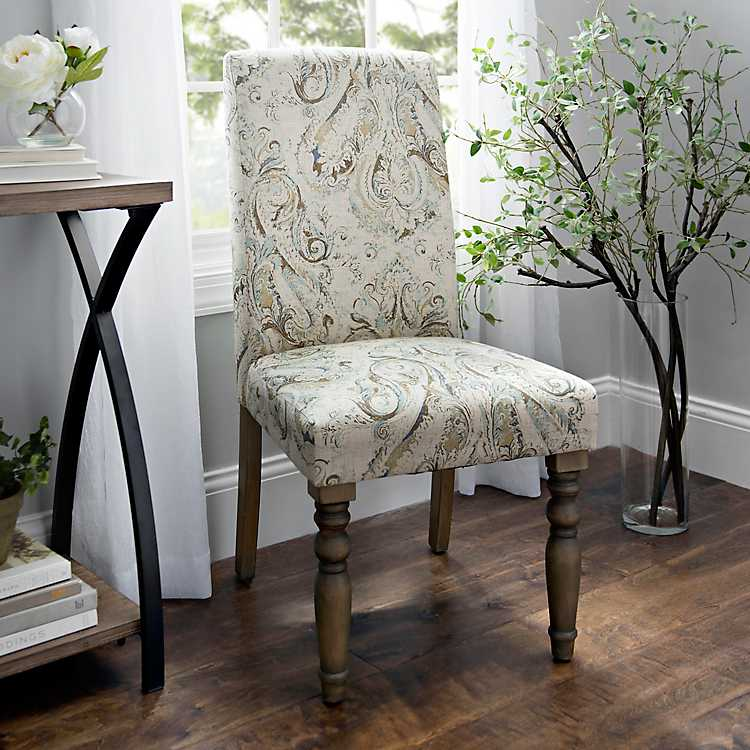 Pompeii Sky Parsons Chair | Kirklands