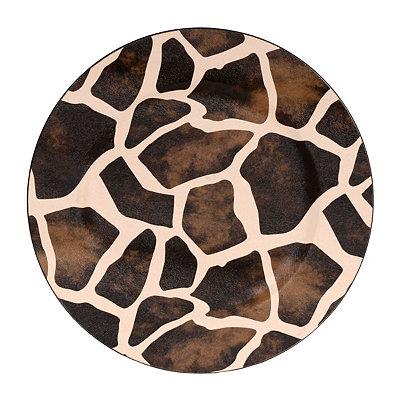 Giraffe Charger Plate