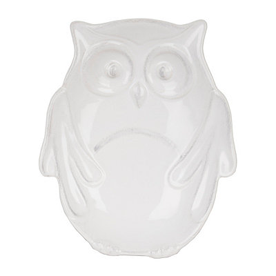 White Owl Snack Bowl