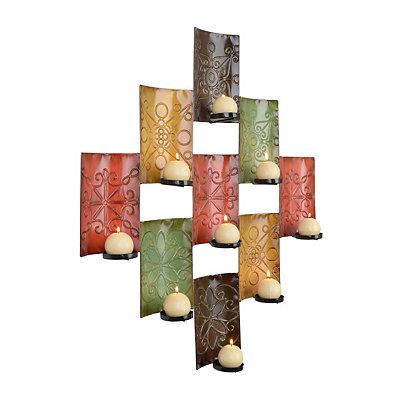 Monterrey 9-Pillar Candle Holder