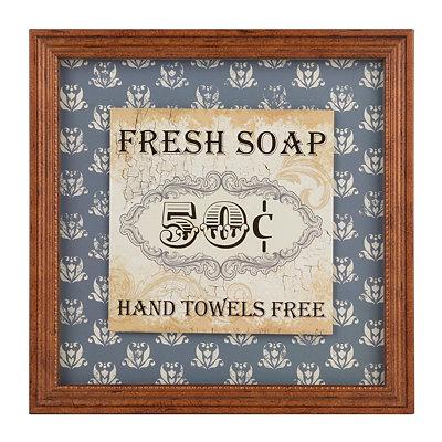 Fresh Soap Framed Art Print