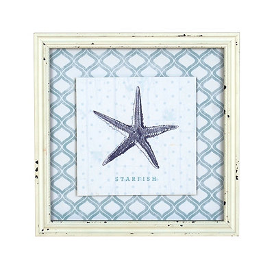 Blue Starfish Framed Art Print