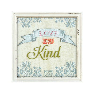 Love Is Kind Framed Art Print