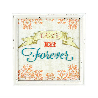Love Is Forever Framed Art Print