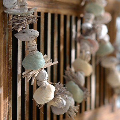 Sea Mist Shell Garland