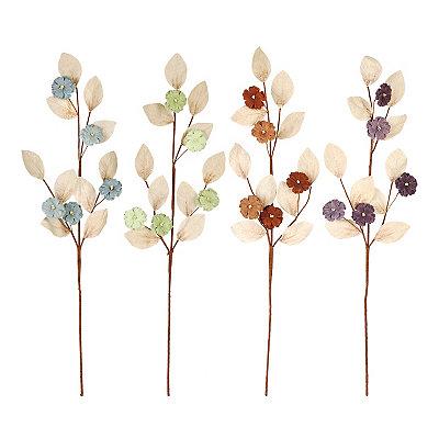 Burlap Blossom Stems