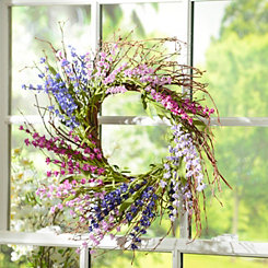 Lavender Ombre Wreath