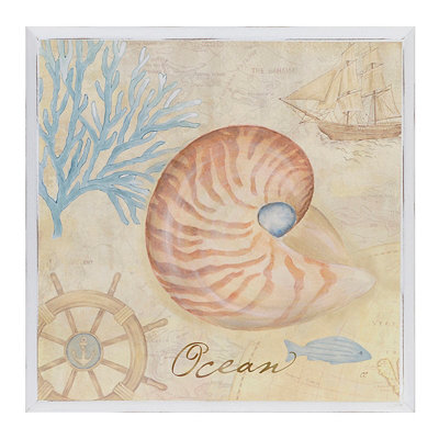 Ocean Nautical Wall Plaque