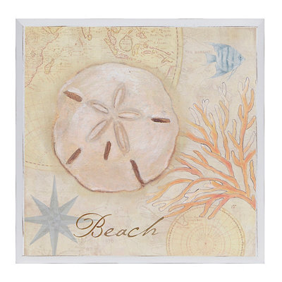 Beach Nautical Wall Plaque