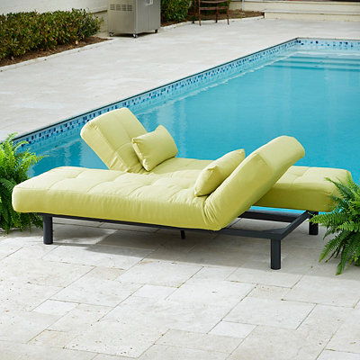 Sage Convertible Outdoor Chaise Lounge