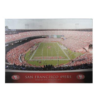 San Francisco 49ers Stadium Canvas Print