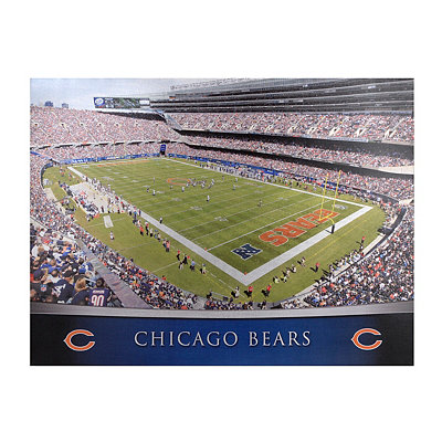 Chicago Bears Stadium Canvas Print
