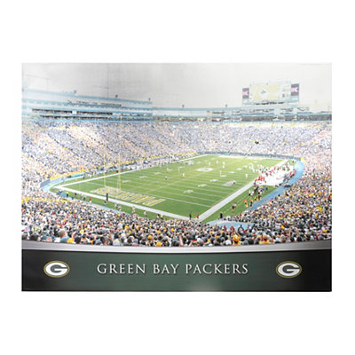 Green Bay Packers Stadium Canvas Print