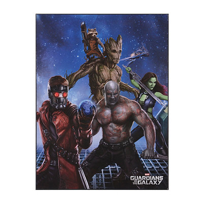 Guardians of the Galaxy Wooden Plaque