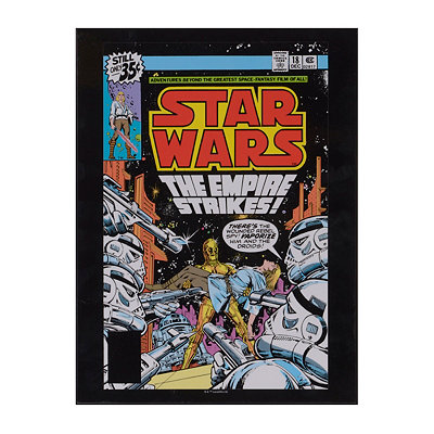 Star Wars The Empire Strikes Wooden Plaque