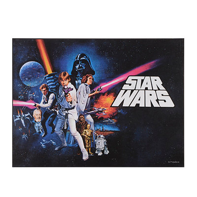 Star Wars Episode VI Wooden Plaque