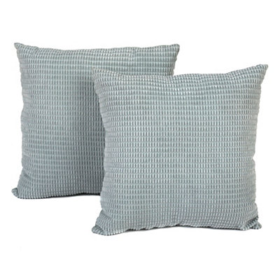 Blue Logan Pillows, Set of 2