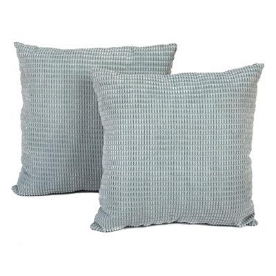 Blue Logan Pillows, Set of 2