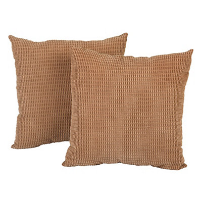 Tan Logan Pillows, Set of 2