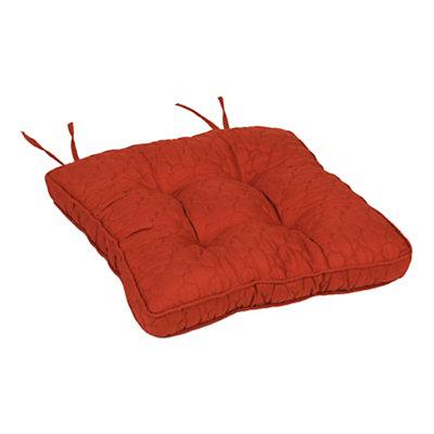 Spice Quatrefoil Chair Pad