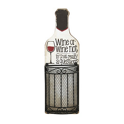 Wine or Wine Not Wall Cork Holder