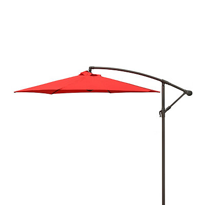 Red Offset Patio Umbrella