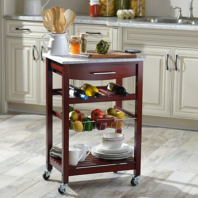 Wenge Kitchen Cart