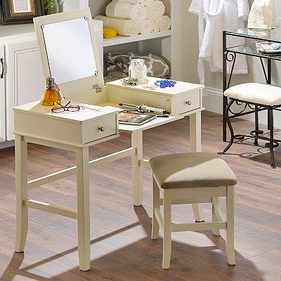 Jackson Cream Vanity Set