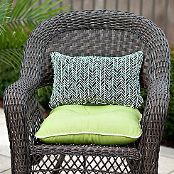 Solid Green Outdoor Cushion