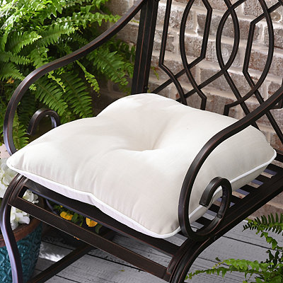 Solid Taupe Outdoor Cushion