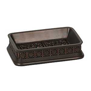 Bronze Stamped Soap Dish