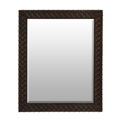 Bronze Artichoke Framed Mirror, 28.5x34.5