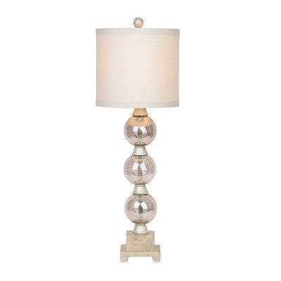 Silver Orbs Table Lamp