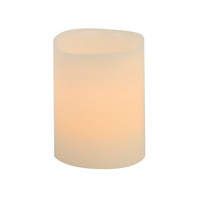 Ivory LED Votive Candle, 3 in.