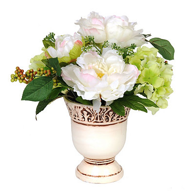 Cream Peony Blend Arrangement