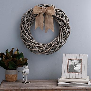 willow branch wreath - Coastal Decor