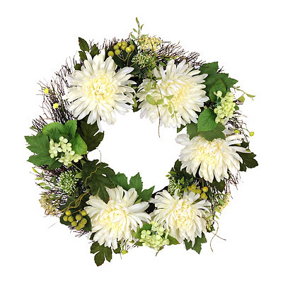 Cream Mum Wreath