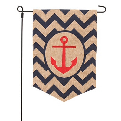 Coastal Anchor Flag Set