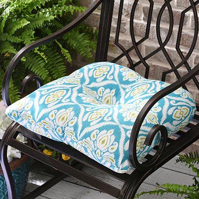 Jaipur Peacock Outdoor Cushion