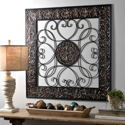 Framed Metal Wall Art metal art | metal wall art | kirklands