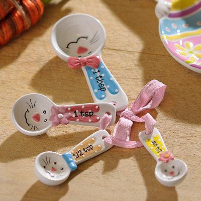 Easter Bunny Measuring Spoon Set