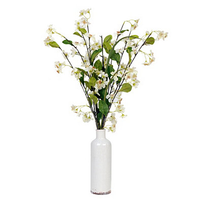 White Cherry Blossom Arrangement, 30 in.